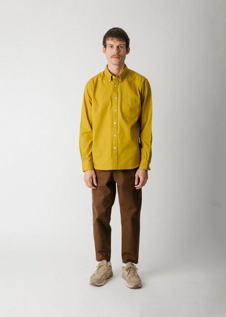 Steven Alan Classic Collegiate Shirt - Ochre Oxford