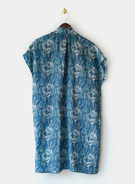 Meg Goodman Dress - Leaf Print