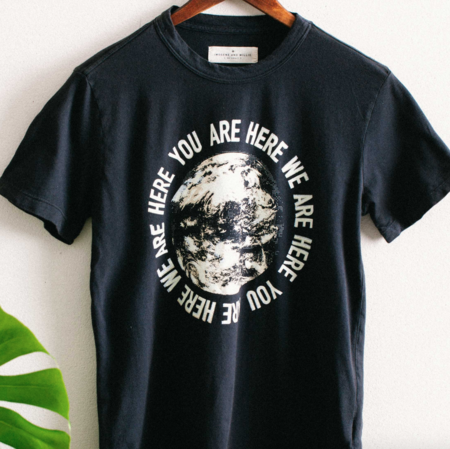 Unisex Imogene + Willie The You Are Here Tee
