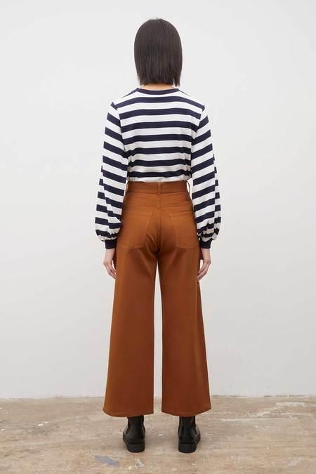Kowtow Sailor Jeans - Brass Denim