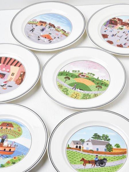 VILLEROY & BOCH Design Naif Salad Plate