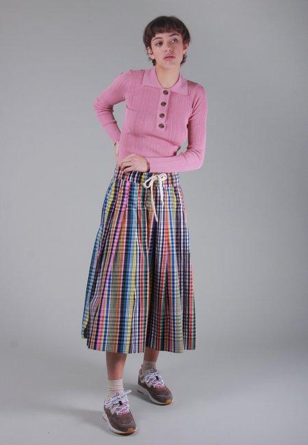 NOBODY DENIM Chelsea Long Sleeve Polo - bloom