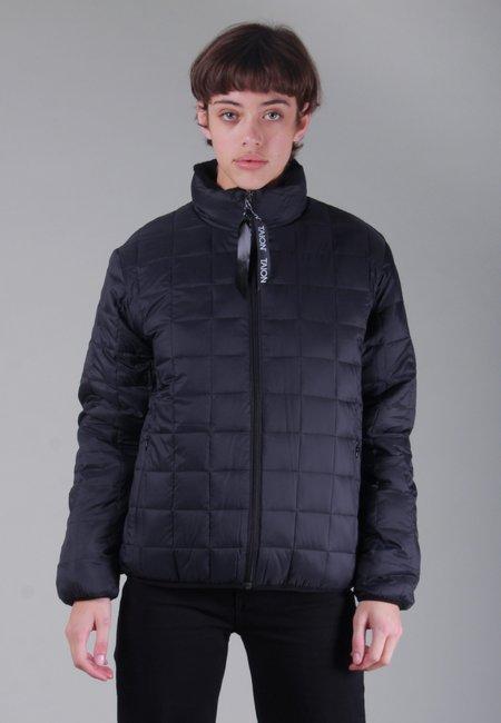 TAION Womens Down x Boa Reversible Jacket - black/black