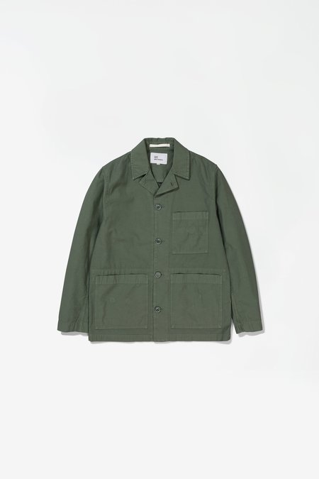 Norse Projects x GM Mads Backsatin Jacket - Thyme Green