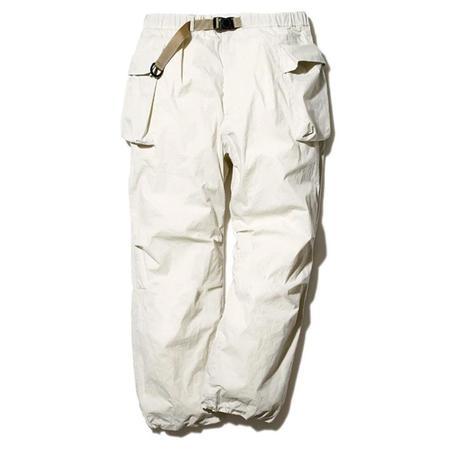 Snow Peak Indigo C/N Pants - Ivory
