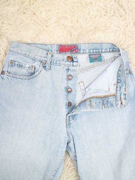 Vintage button fly BIG STAR boyfriend 90s jeans - light wash
