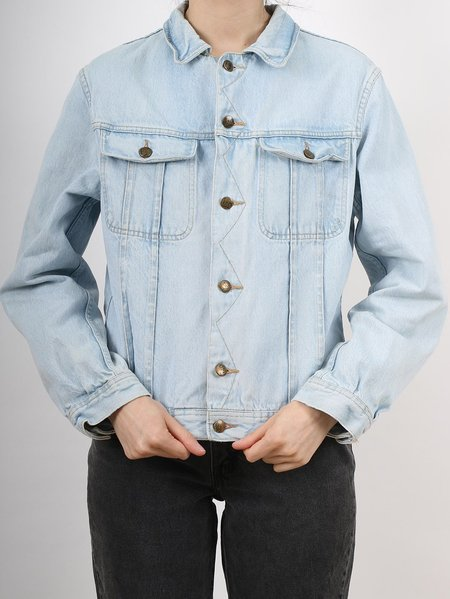 Vintage lois jean jacket - light wash denim