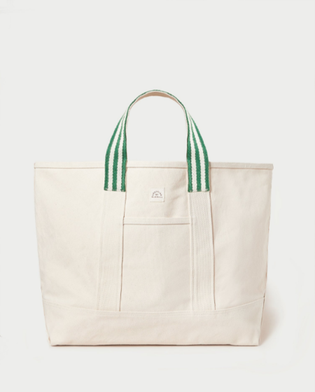 Loeffler Randall Bodie Oversized Tote BAG - Natural/Green