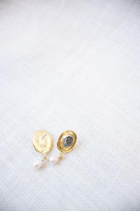Mondo Mondo Viva Earrings - Ice Blue