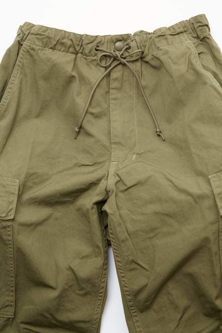 OrSlow Easy Cargo Pants - Army Green