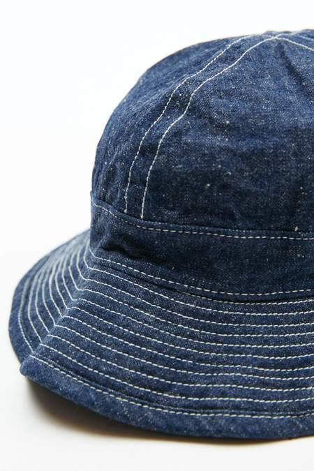 Orslow US Navy Denim Hat - One Wash
