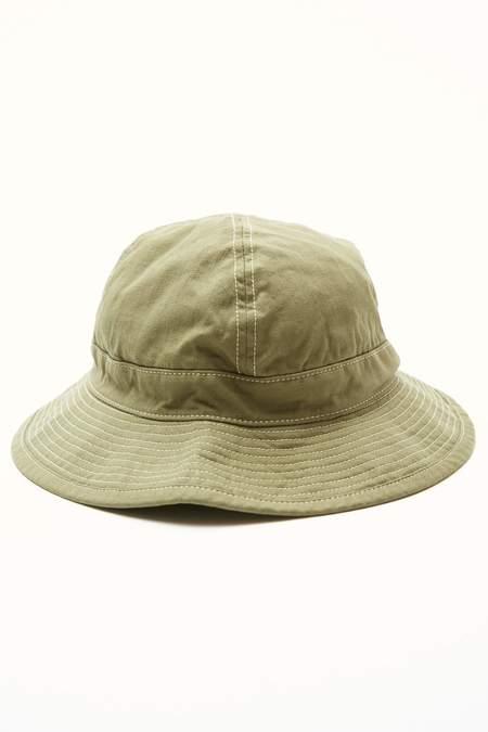 UNisex Orslow US Navy Herringbone Hat  - Green