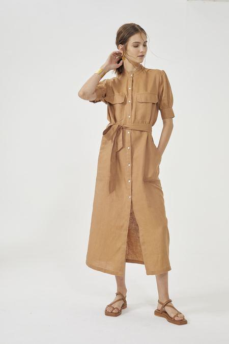 Lanhtropy Safari Shirt Dress