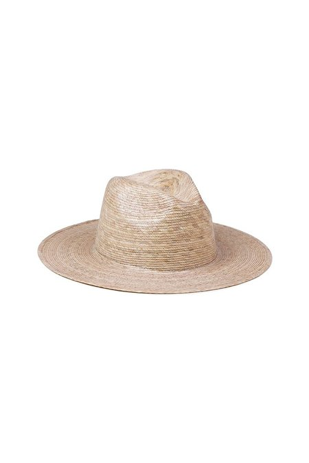 Lack of Color PALMA FEDORA STRAW HAT - Natural