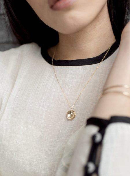 Mabel and Moss Cove Necklace - Gold