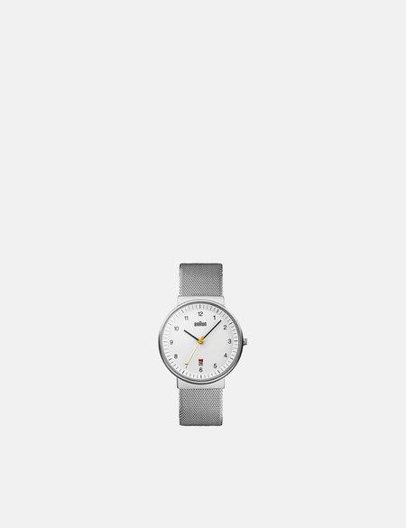 Braun BN0032 Watch - Silver/White Face
