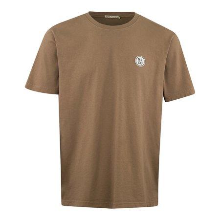 Nudie Jeans Uno GD Circle T-Shirt - Beige