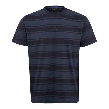 PAUL SMITH Bold Stripe T-Shirt - Navy