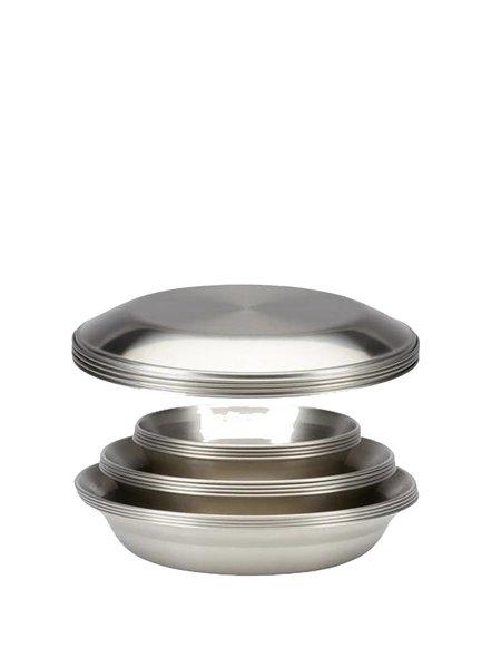 Snow Peak  L Family Tableware Set - stainless steel