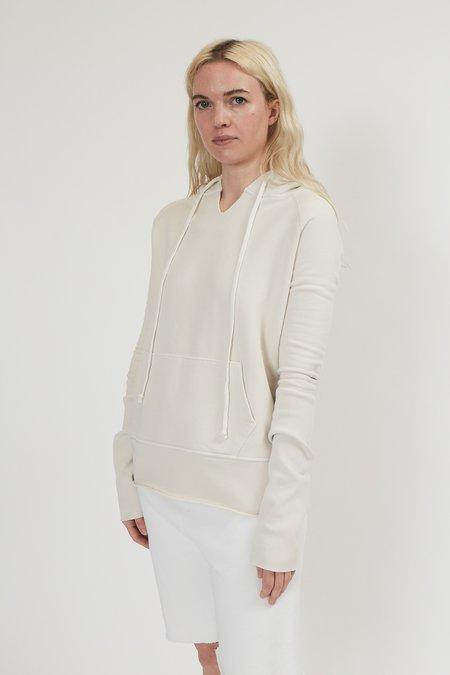 Nili Lotan Janie Hoodie sweater - Chalk