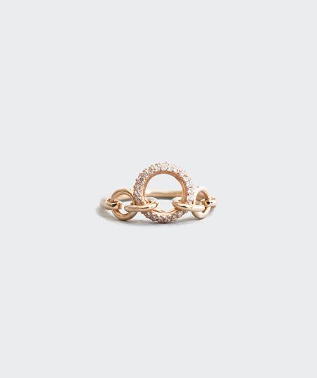 Meadowlark Jewellery Triple Pavé Halo Ring