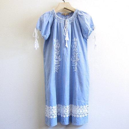 Rose + Rose Fasano dress - Blue