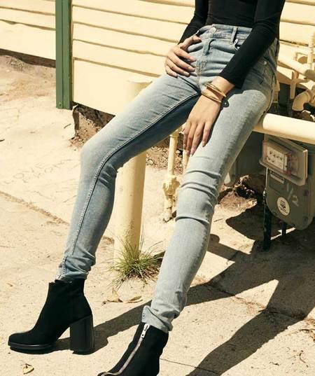 Won Hundred Marilyn Skinny Jeans - Used Blue