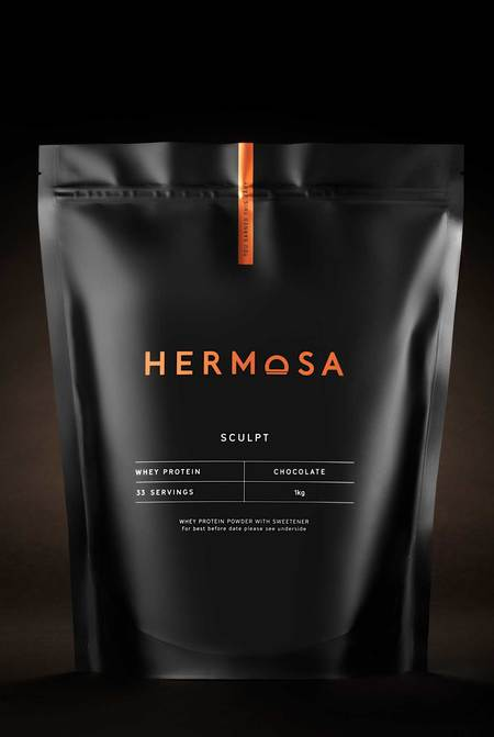 Hermosa 1kg Pouch Chocolate Whey Protein Powder