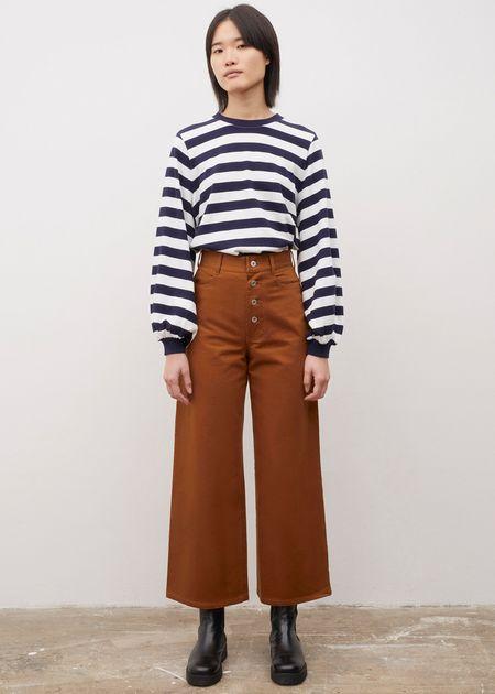 Kowtow Sailor jeans - brown