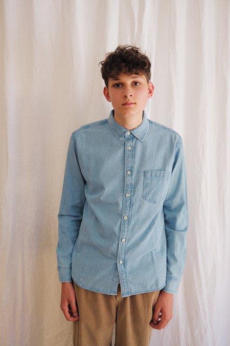 Corridor Long Sleeve Denim Shirt - Blue