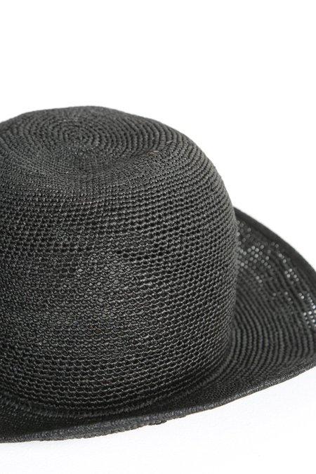 FUJITO PANAMA HAT - Black