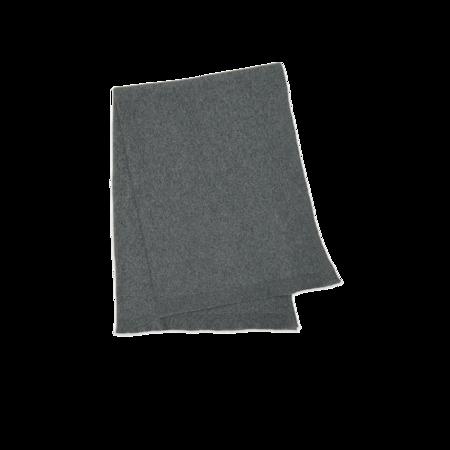 Hawkins New York Simple Oversized Knit Throw - Grey