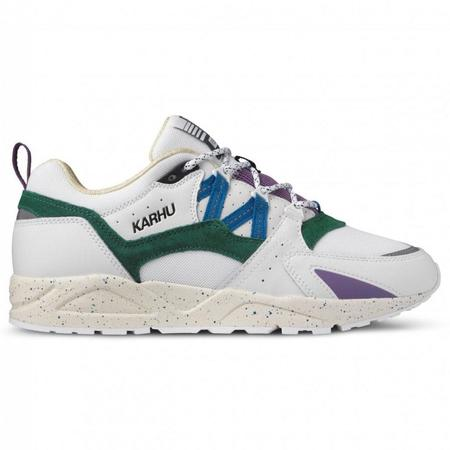 Karhu  Fusion 2.0 sneakers - Bright White/Blue Spruce