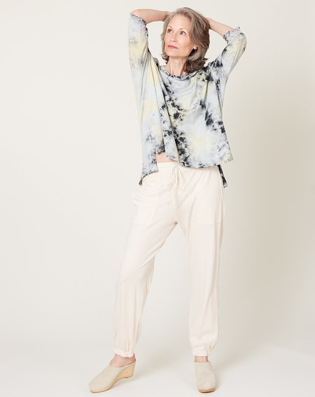 Raquel Allegra Tracker Pant - Dirty White