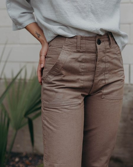 Esby Florence Pant - Moss