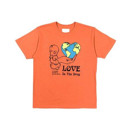 CRTFD High on Love Tee - orange