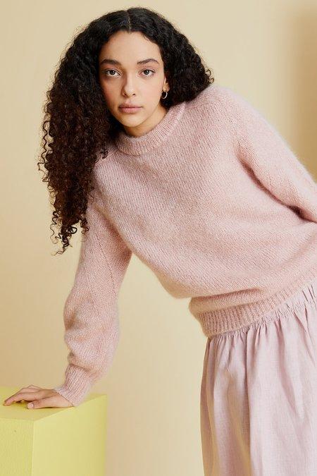 hej hej Heart Sleeves Knit - Marshmallow