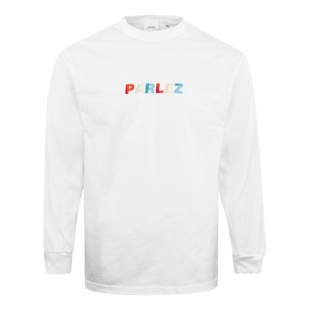 Parlez Faded LS T-Shirt - White
