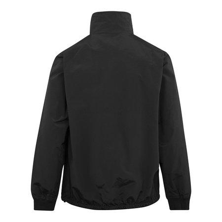 Parlez Vanguard Nylon Half Zip Jacket - Black