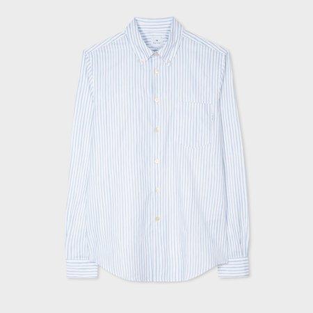 Paul Smith Stripe Tailored Shirt - White
