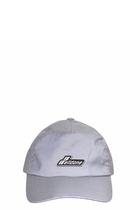 we11done Reflective WE11DONE Wapen Logo Cap - Silver/3M