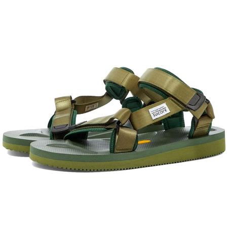 Suicoke Depa-V2 shoes - Forest Green