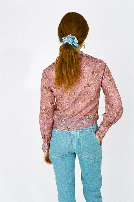 PALOMA WOOL Sonia Shirt - Pink Huella print