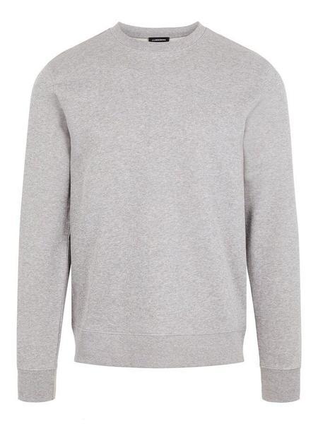 J Lindeberg Throw Crewneck Clean Sweatshirt - Grey