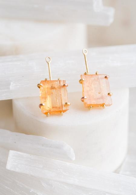Variance Objects Imperial Topaz Drops - 14KT-18KT Gold