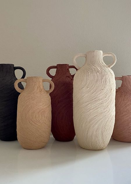 Tania Whalen Ceramics The bottle wrapped in motion vase