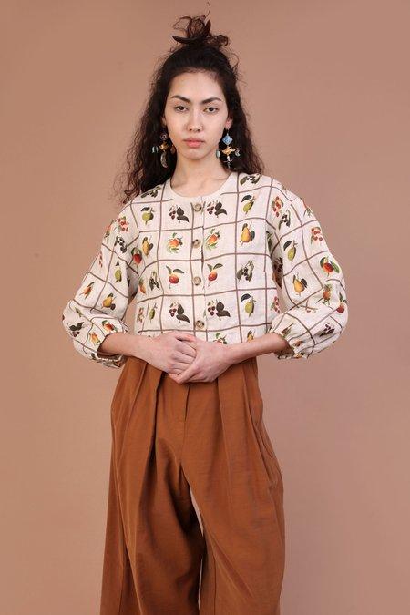 Meadows Tudor Rose Shirt - Fruit Check
