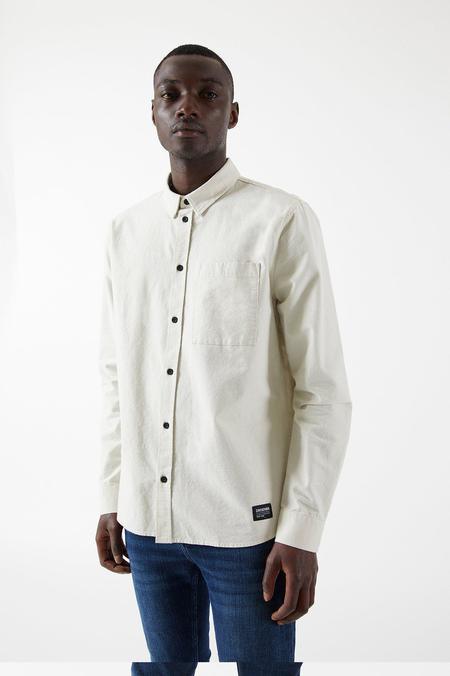 Dr Denim Dale Shirt - Off White