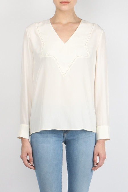 Jenni Kayne V Neck Star Yoke Top