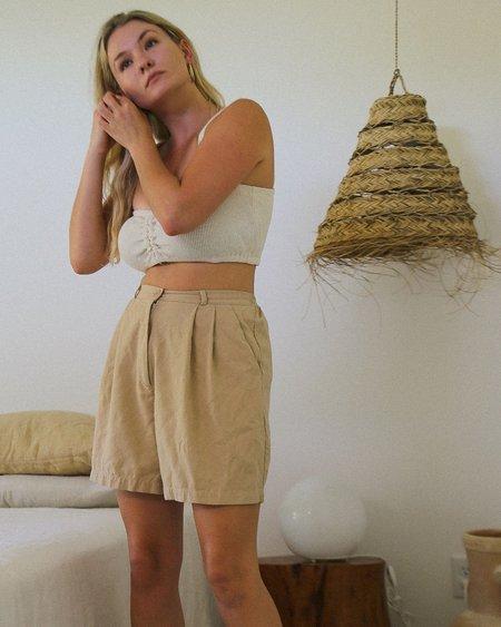 harly jae Rhodes Shorts - Sand